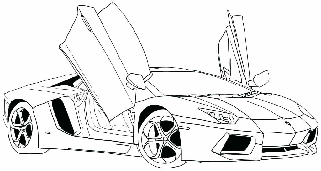 20 Desenhos De Carros Para Colorir E Imprimir Como Fazer Em Casa
