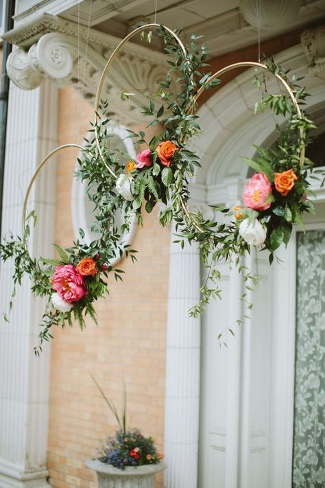 Guirlandas decoradas para casamentos