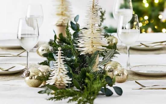 Centro de mesa para Natal