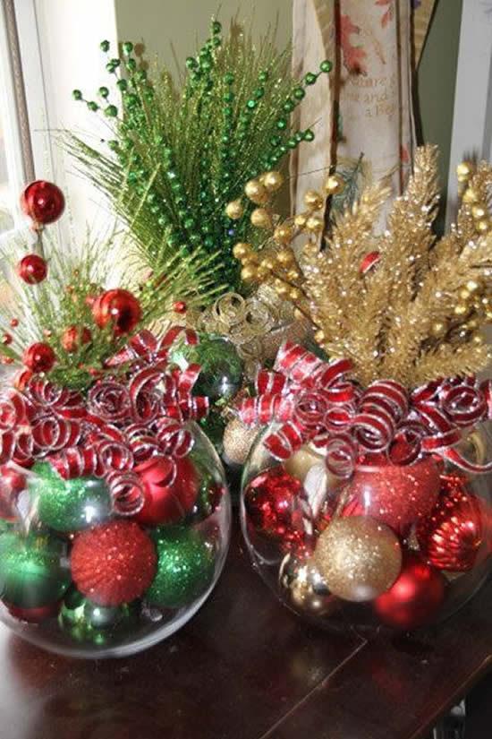 Centro de mesa de Natal lindíssimo