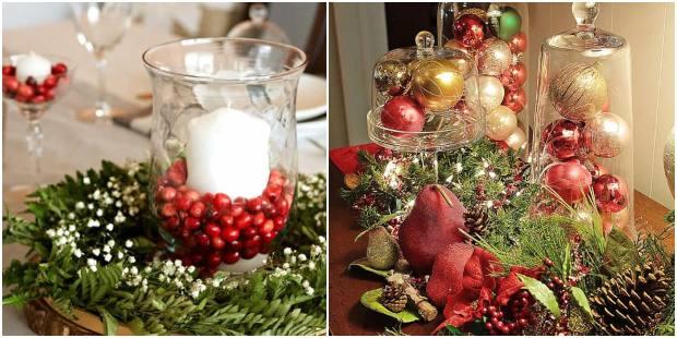 Centros de mesa para Natal