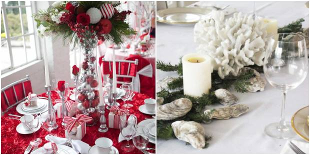 Decore sua mesa de Natal de forma linda e delicada