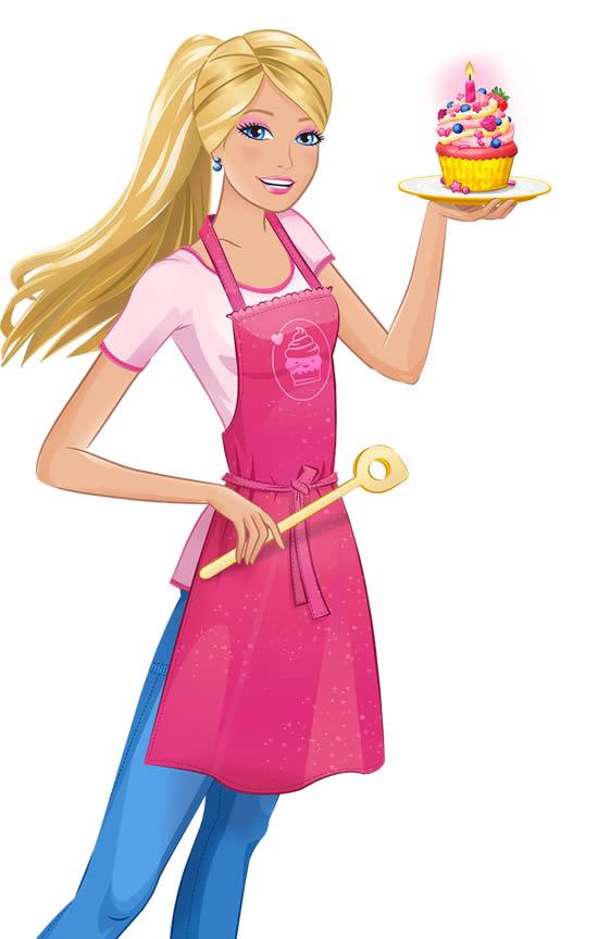 Desenho da Barbie