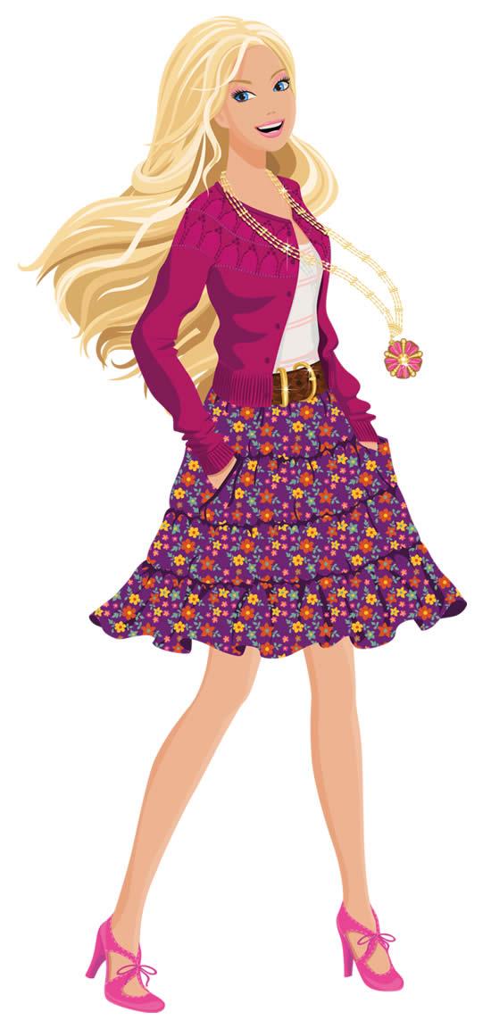 Molde da Barbie