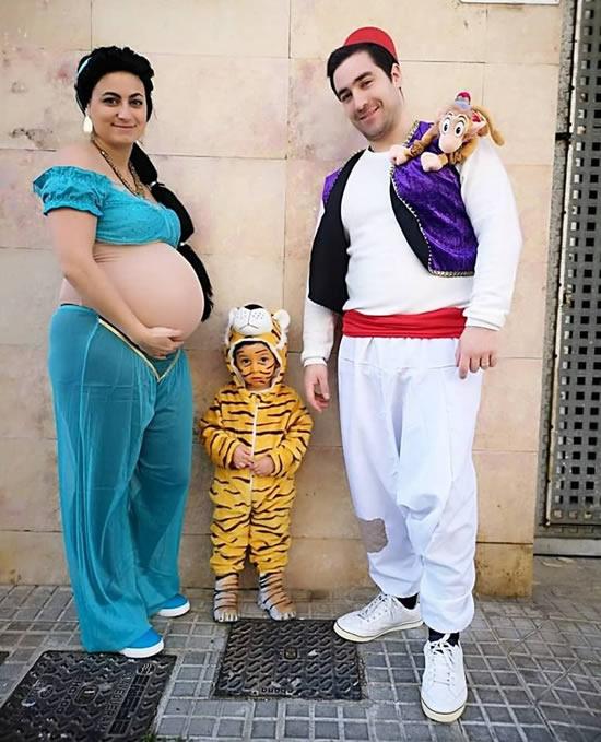 Fantasia de Aladin e Jasmine