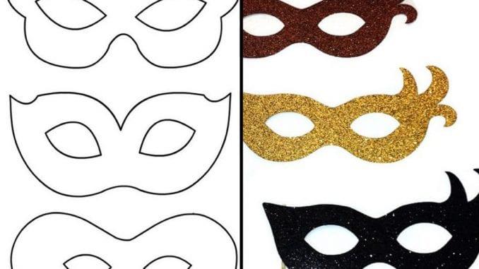 120 moldes de máscara de carnaval para imprimir 2020 (1)