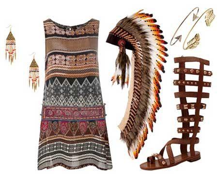 outfit índia