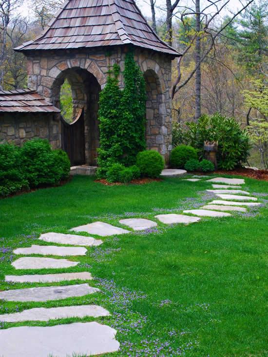 Ideias de caminhos com pedras