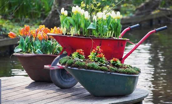 Inspirações lindas para decorar o jardim
