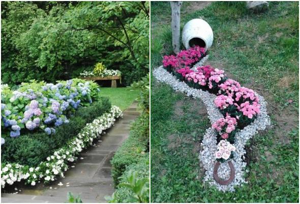 Decoração de jardim para inspiração