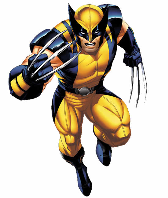 Desenho do Wolverine