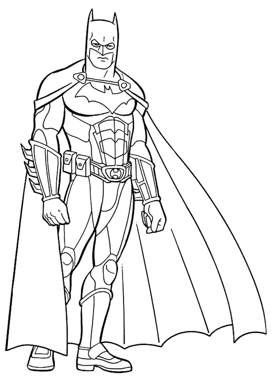 Imagem do Batman para colorir