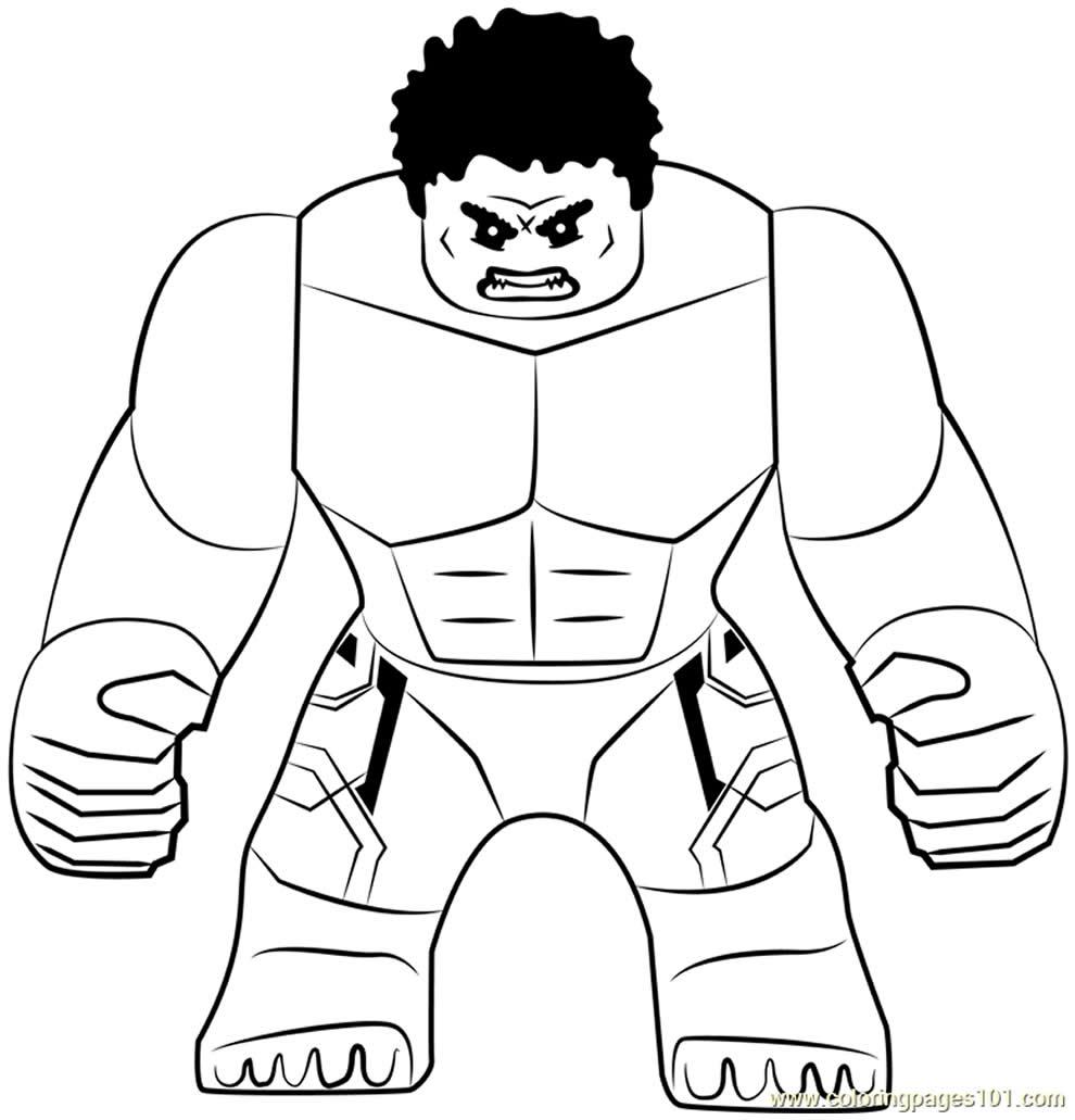 Imagem de Hulk para pintar
