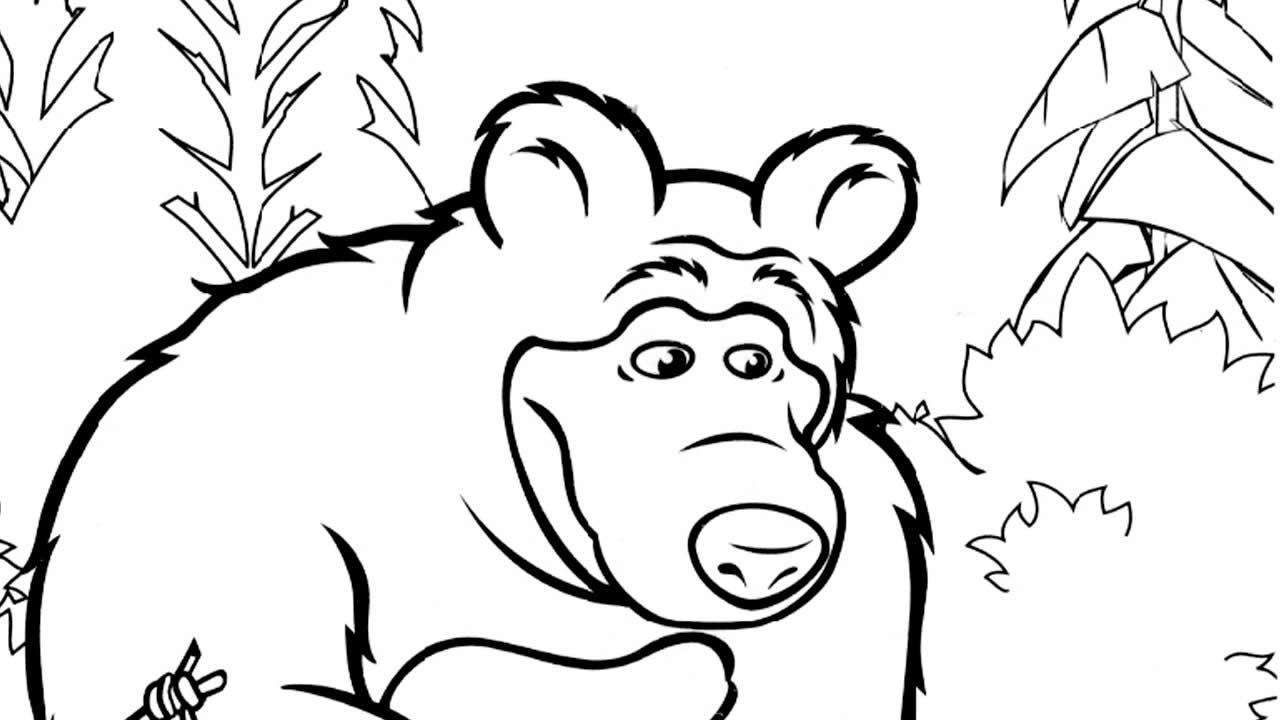 Molde de Masha e o Urso