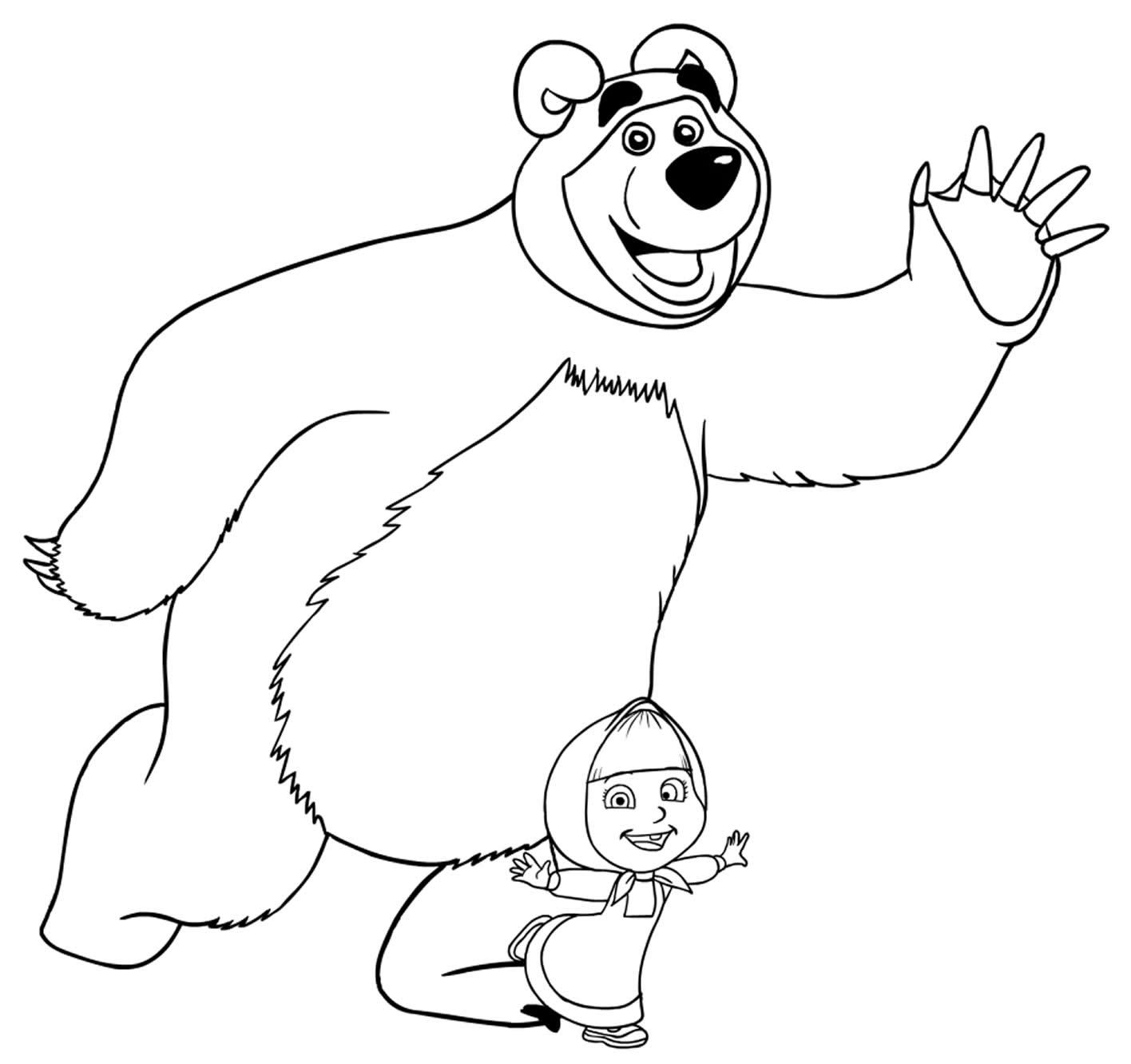 Imagem de Masha e o Urso