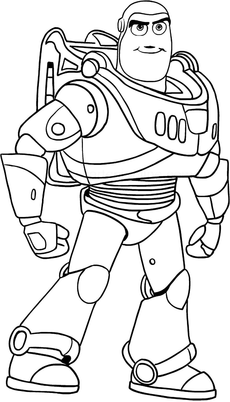 Imagem de Toy Story para colorir