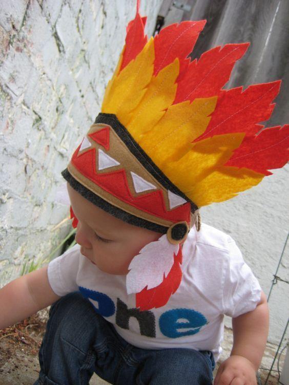 fantasia de índio infantil
