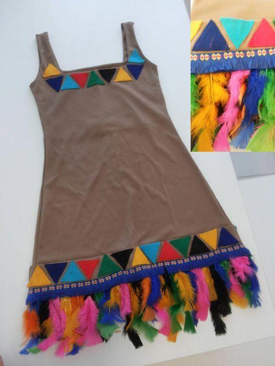 vestido de índia