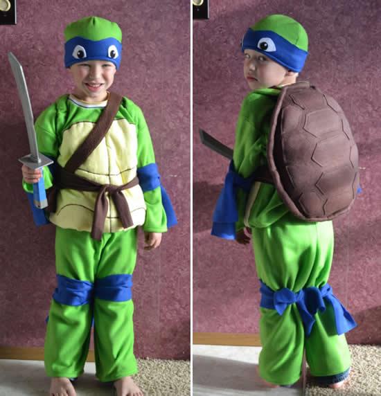 Fantasia criativa de Tartaruga Ninja