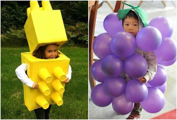 Ideias lindas para fantasias infantis