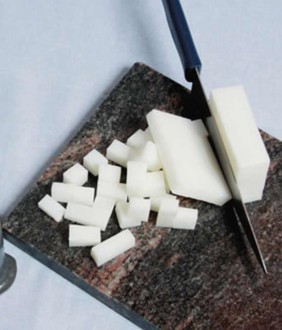 Fazendo sabonete caseiro