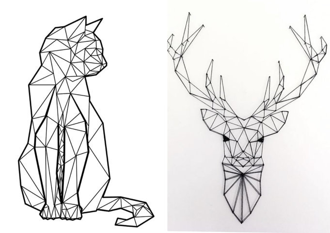 Desenhos geométricos para colorir (2)