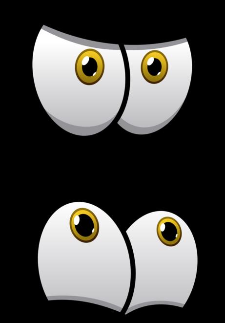 expressões em olhos