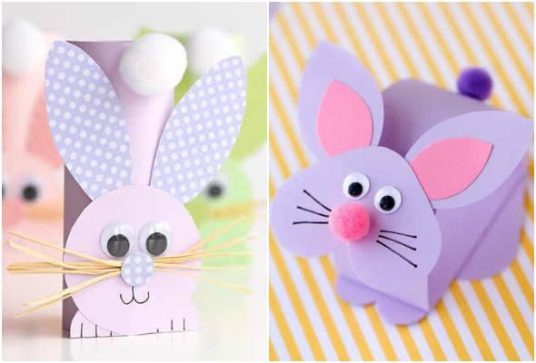 Como fazer coelhinho de papel