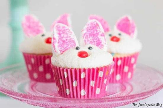 Cupcake decorado de Páscoa