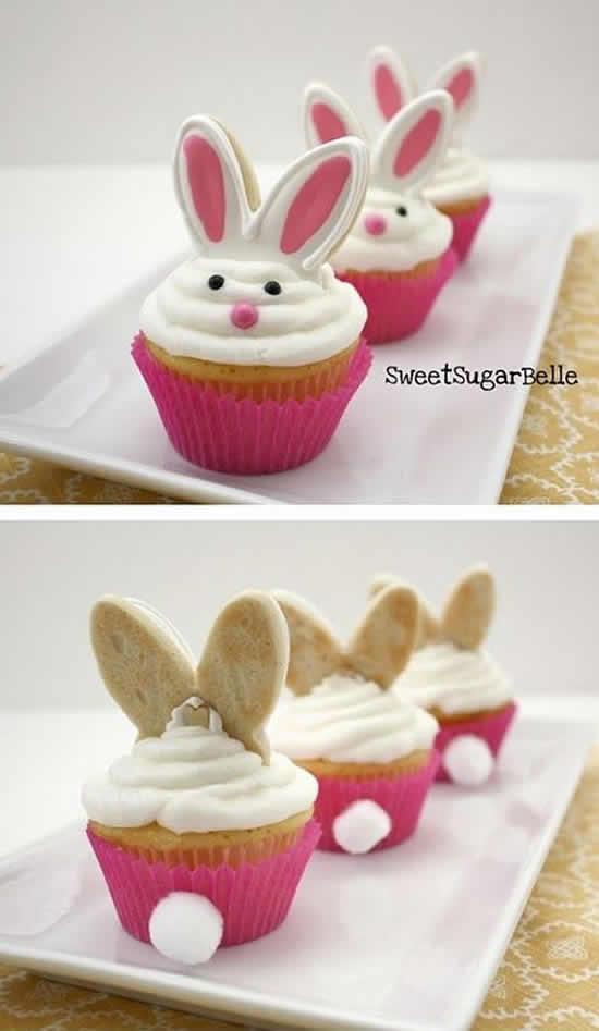 Lindos cupcakes para Páscoa