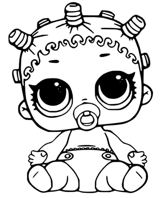 Lindo desenho da LOL bebê