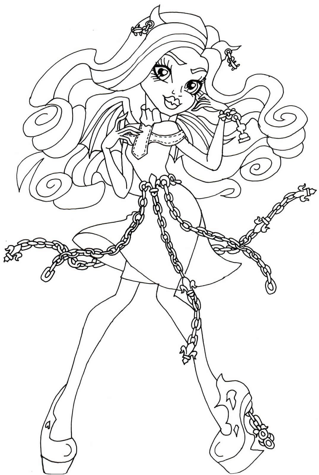Modelo de Monster High