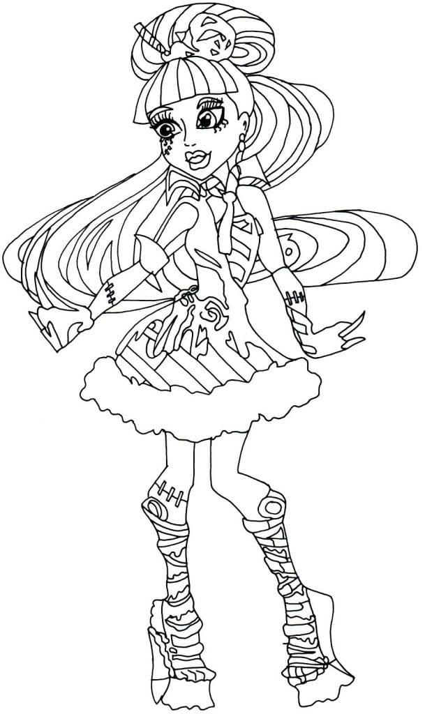Desenho de Monster High