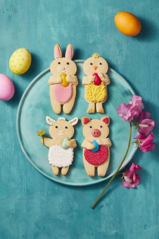 Coelhinhos lindos de Páscoa para fazer doces