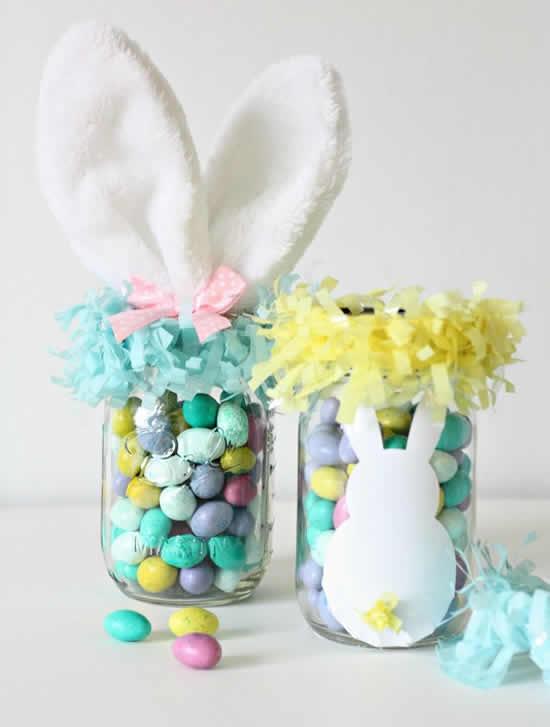 Lembrancinhas com doces para Páscoa