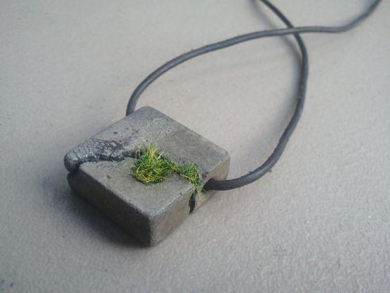 Bijuterias de cimento
