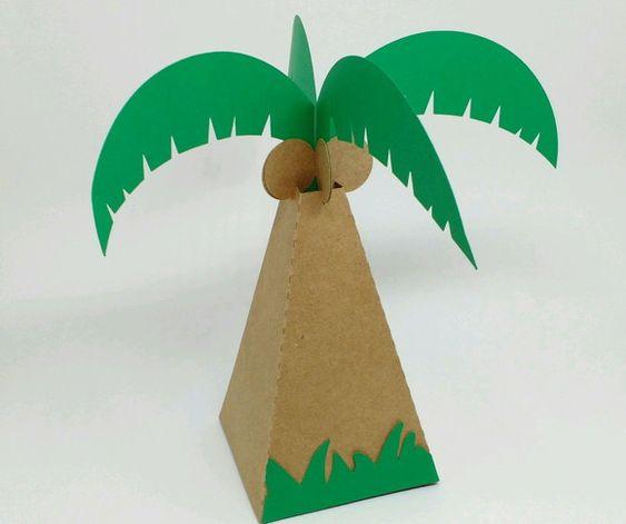lembrancinha de coqueiro