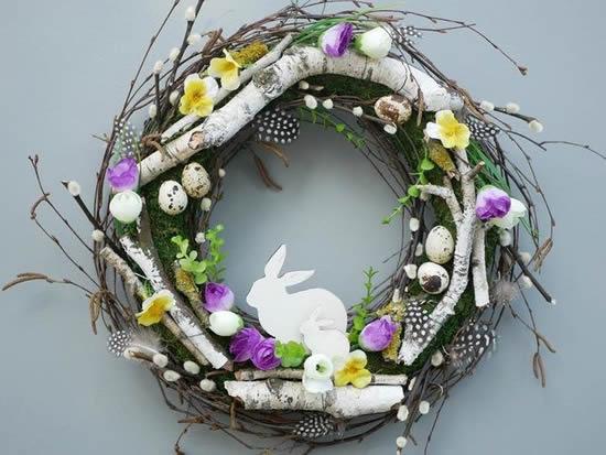 Decoração linda para Páscoa