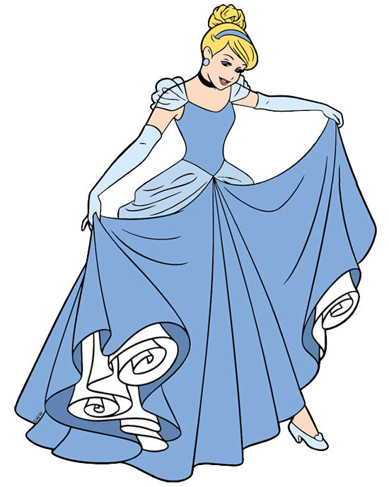 Desenho da Cinderela