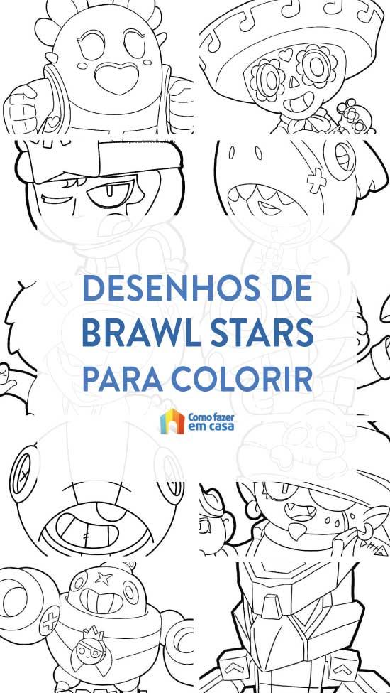 Desenhos para colorir de Brawl Stars