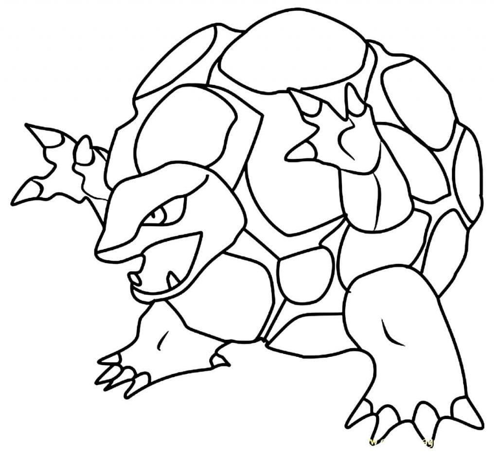 Desenho de Pokémon para pintar Desenhos para pintar infantil