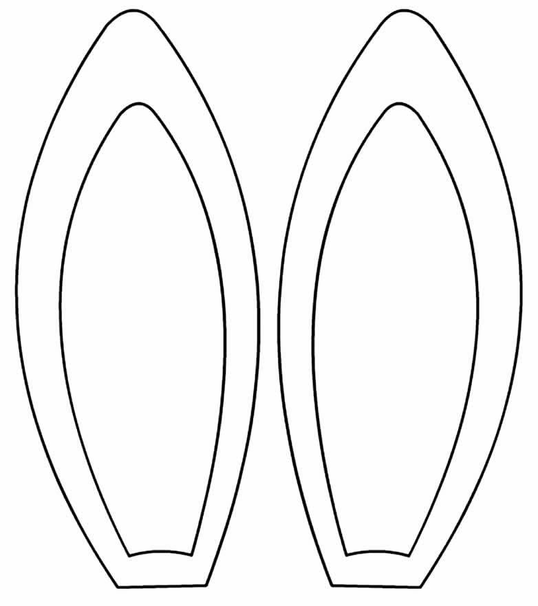 Molde de orelhas de coelho