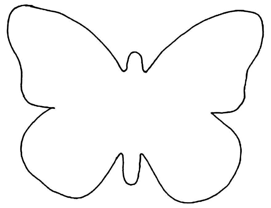 Moldes de borboleta