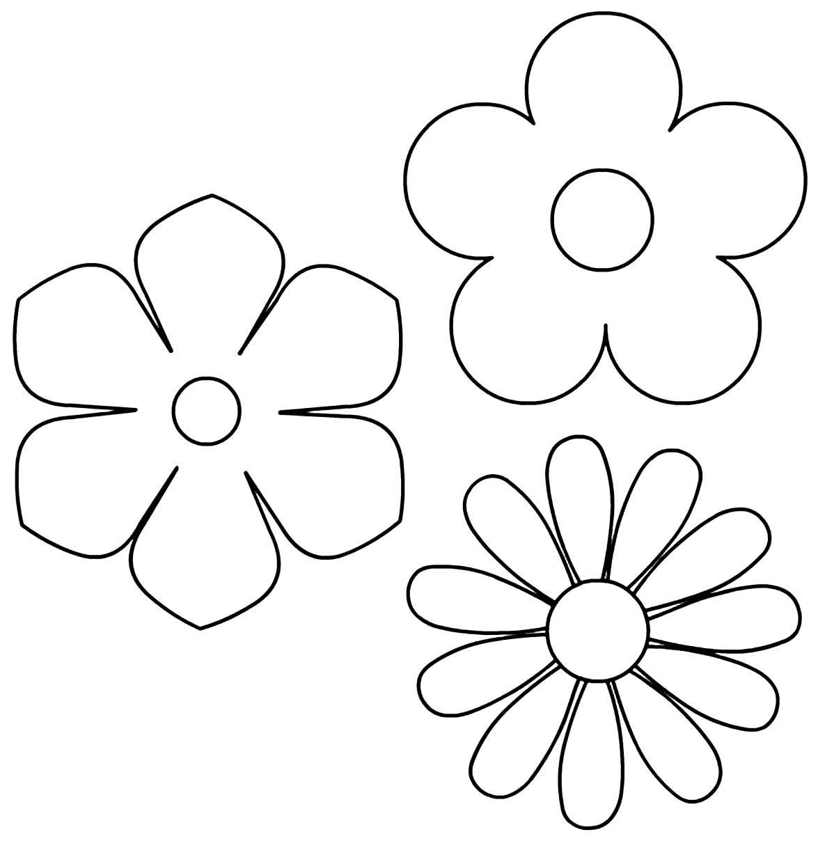 Molde de flores de papel
