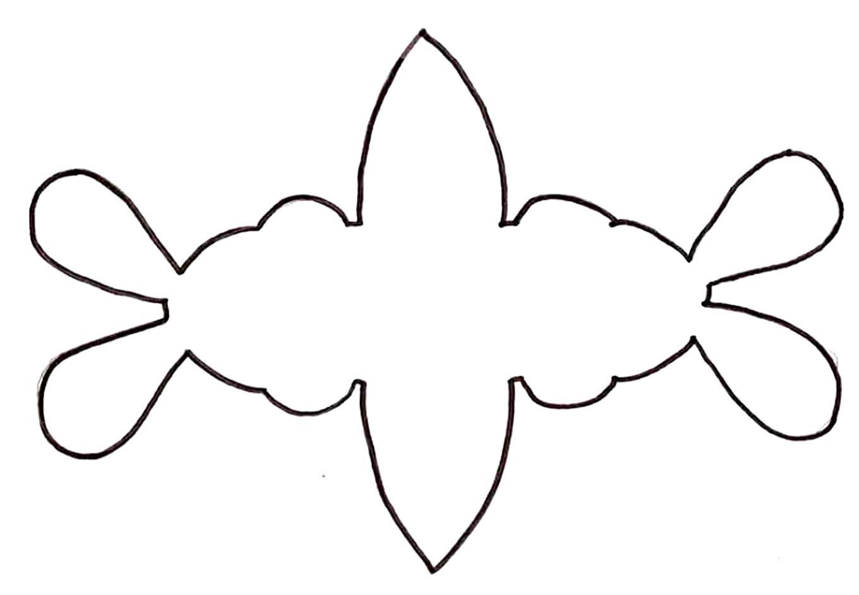 Molde de porta-bombom de coelhinho de EVA para Páscoa