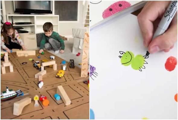 Brincadeiras e atividades para crianças