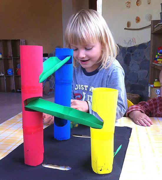 Atividade infantil para fazer em casa