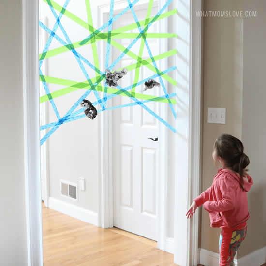 Atividade para fazer com crianças em casa