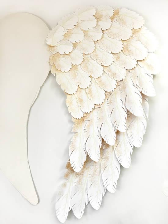 Asas de anjo para decoração