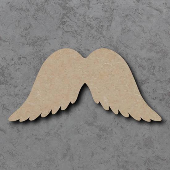 Asas de anjo com papelão
